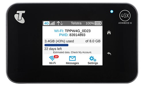 Telstra Mobile Wi-Fi 4G Advanced III