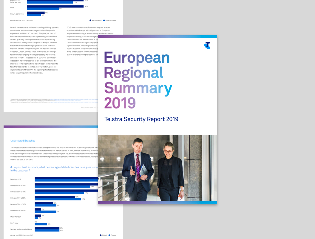 European Summary Report front cover
