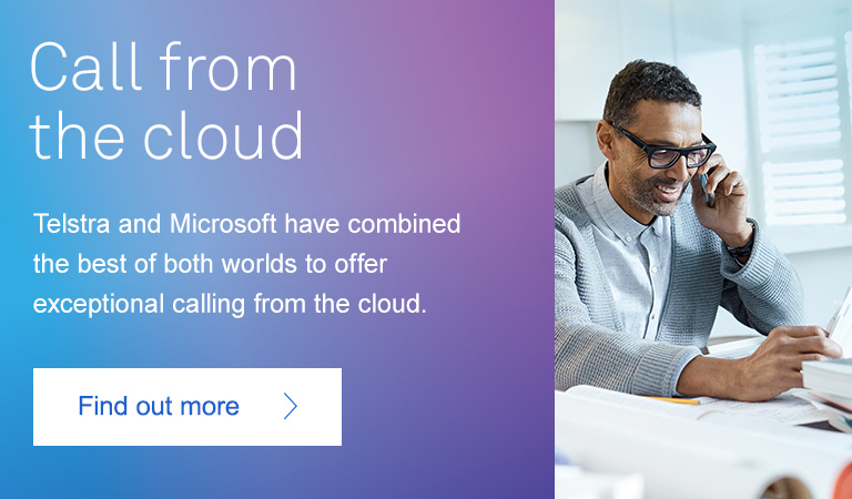 Telstra Calling for Office 365 - calling from the cloud is here.