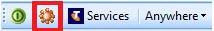 telephony toolbar options