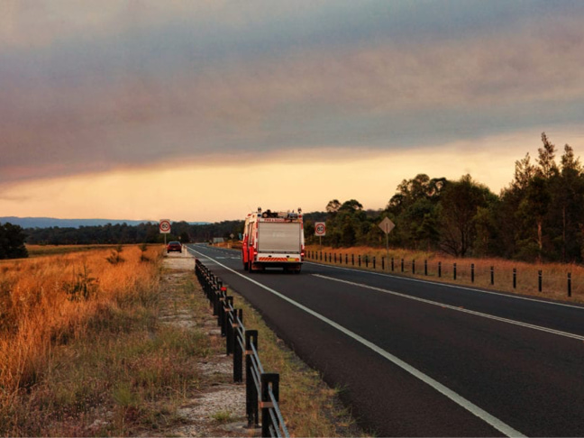 Bushfire support for customers