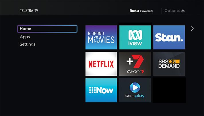Using My Telstra TV™