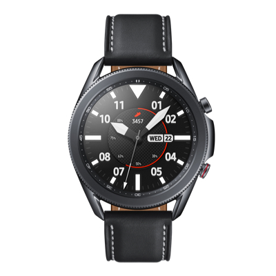 Samsung Galaxy Watch3 available in three colour variants - black, grey and bronze.