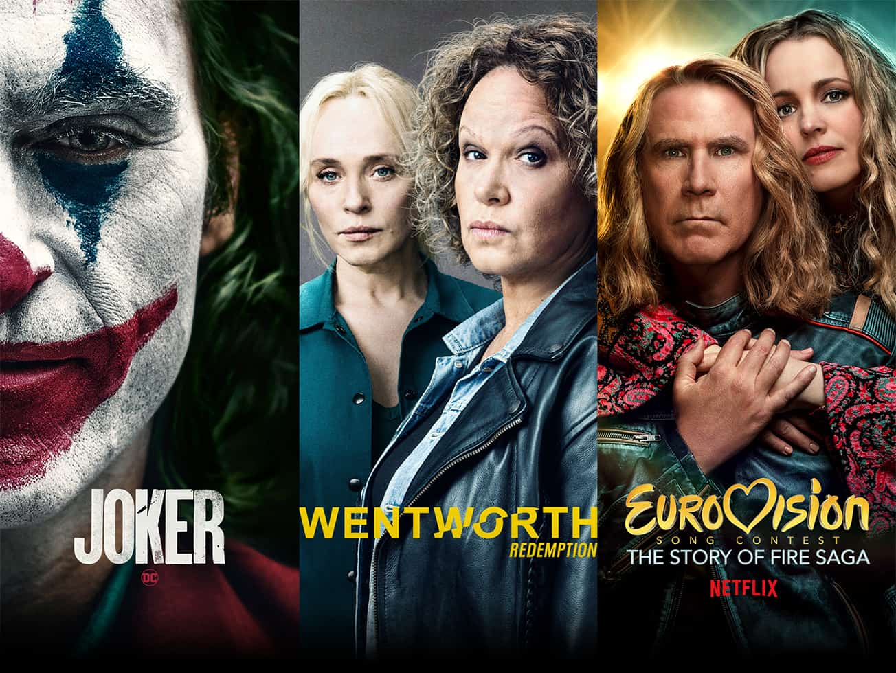 Watch great on demand content such as Joker, Wentworth and Eurovision.