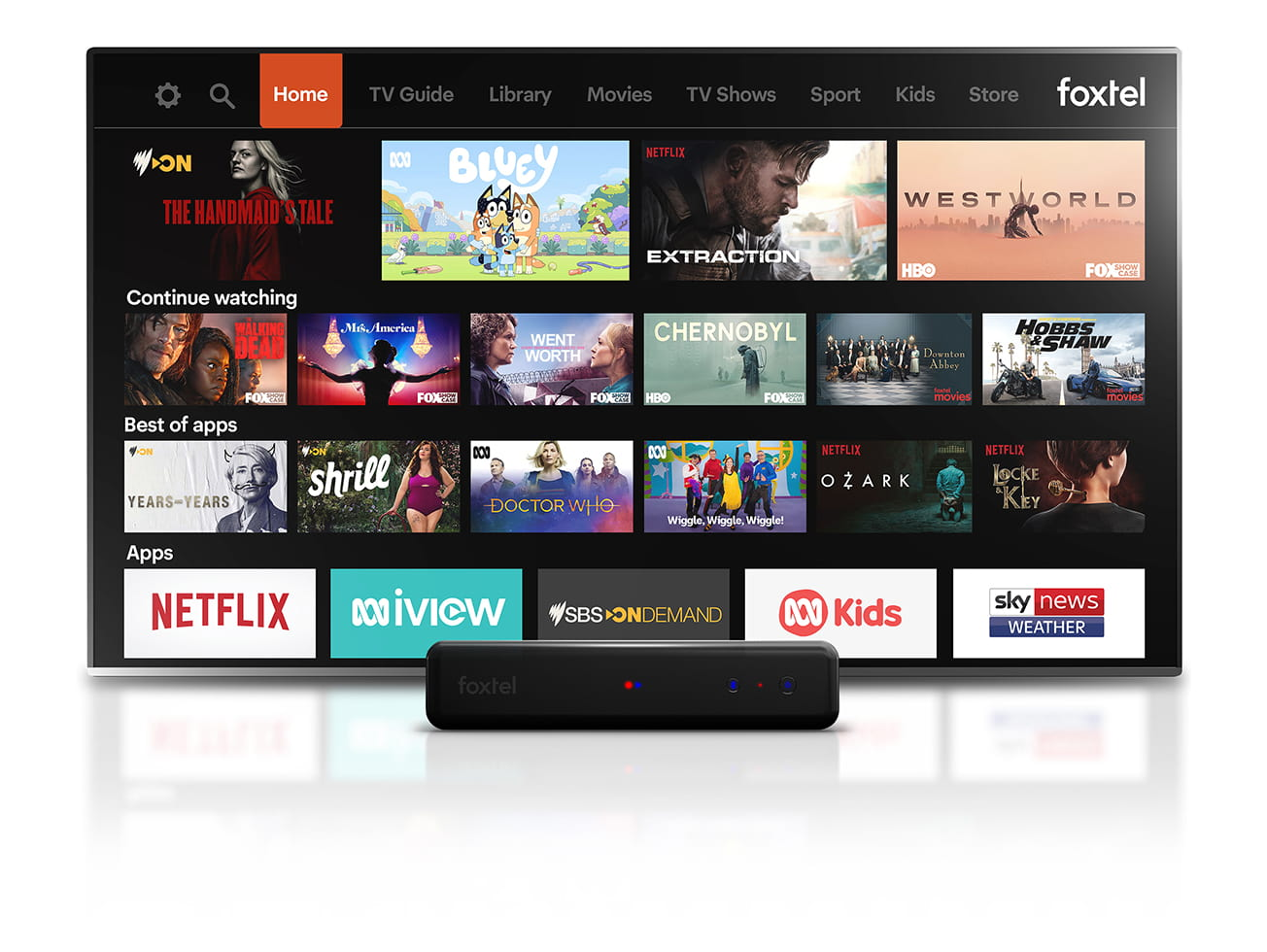 Watch your favourite TV shows with Telstra TV