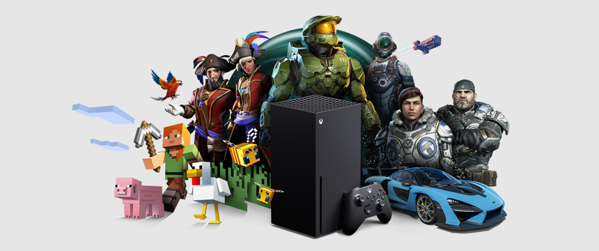 Purchase the Xbox Series X with over 100 games for Xmas