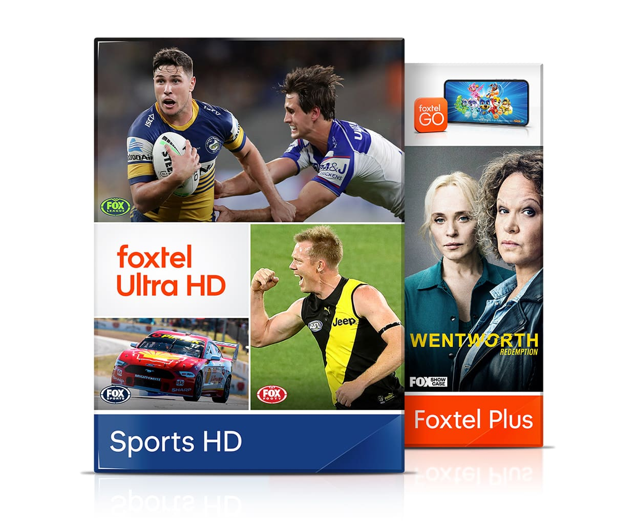 Watch 12 channels of sports including Rugby on the Foxtel iQ box, included with the Sports HD package
