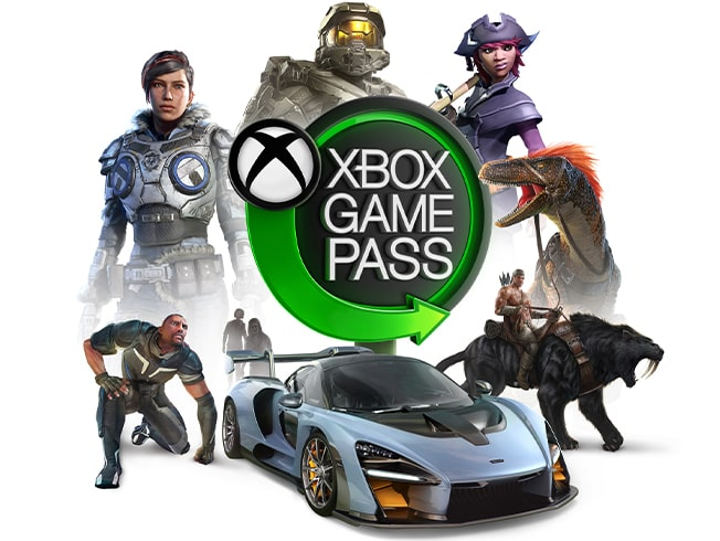Play over 100 games with Xbox Game Pass