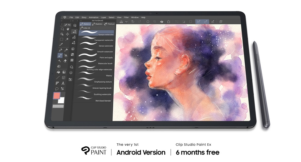 Clip Studio Paint app also has animation features to help you create simple animations.