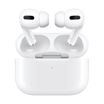 Apple AirPods Pro are available in white