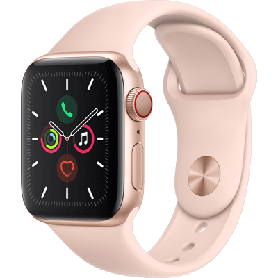 Apple Watch Series 5 GPS plus Cell 44mm are available in gold, silver and space grey
