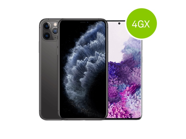 4GX-ready mobile phones