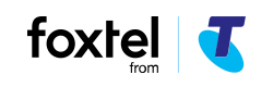 Telstra TV & Foxtel Now logo