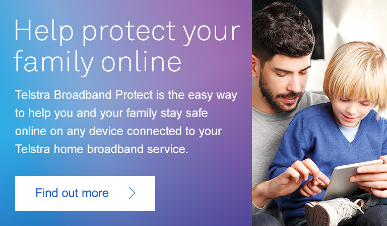 Help protect your family online