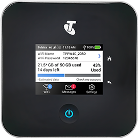 Nighthawk M2 Mobile broadband data plans from Telstra