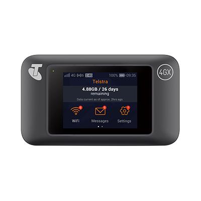 telstra 4gx wifi pro huawei e5787 touch screen modem