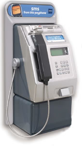 picture of a payphone