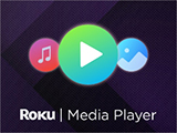 Roku media player logo