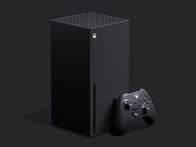 Xbox Series X device and controller