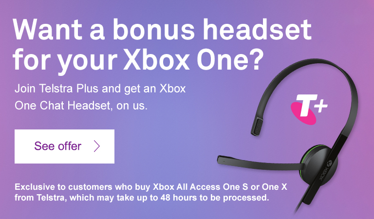 Join Telstra Plus and get an Xbox One Chat Headset