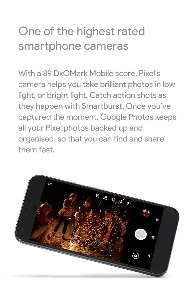 Google Phone - One of the highest rated smartphone cameras