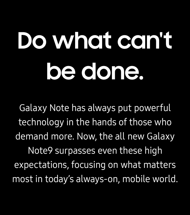 Samsung Galaxy Note 9 Mobile plans from Telstra