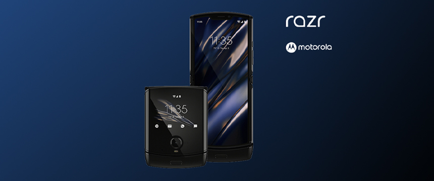 The motorola razr mobile phone