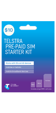 $10 Pre-Paid SIM Starter Kit (Tablets)
