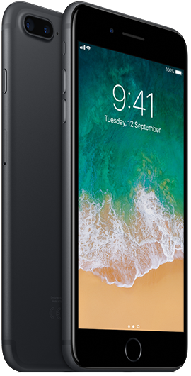iPhone 7 Plus 32GB Black | Tuggl