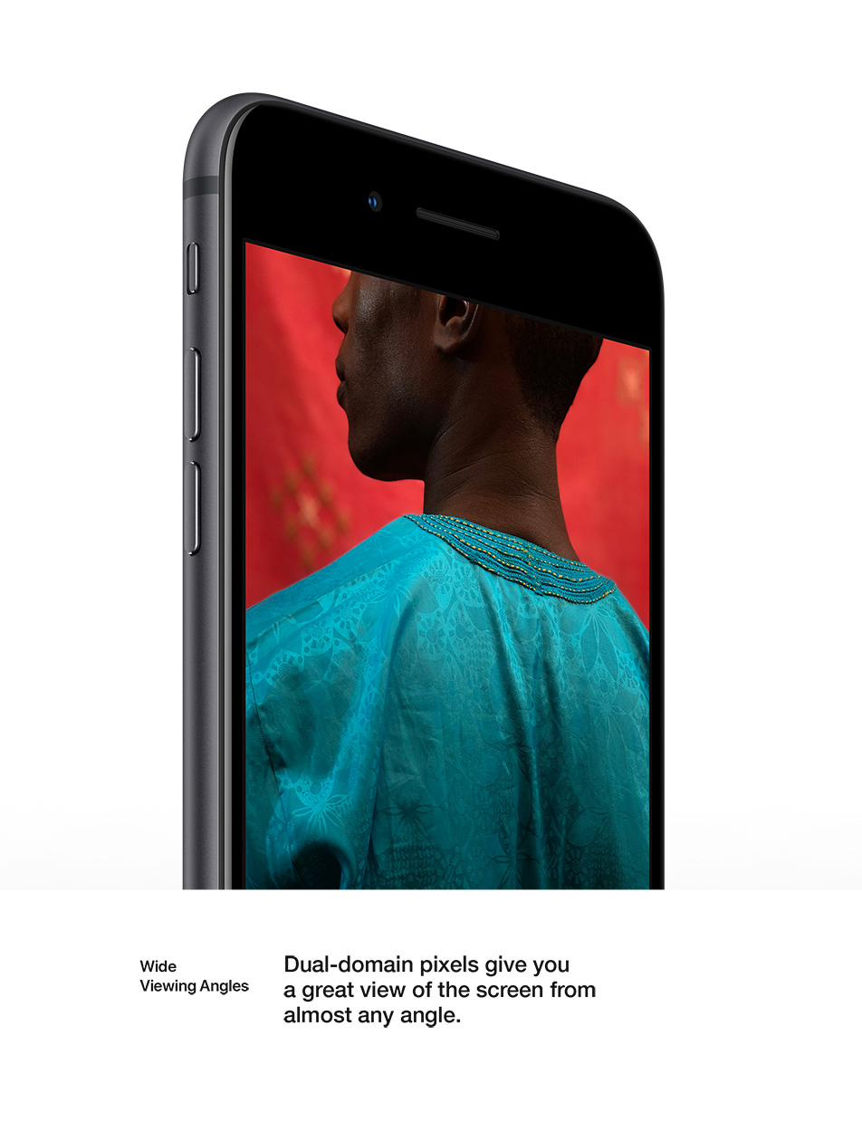 iPhone 8 - Retina HD Display - Wide Viewing Angles
