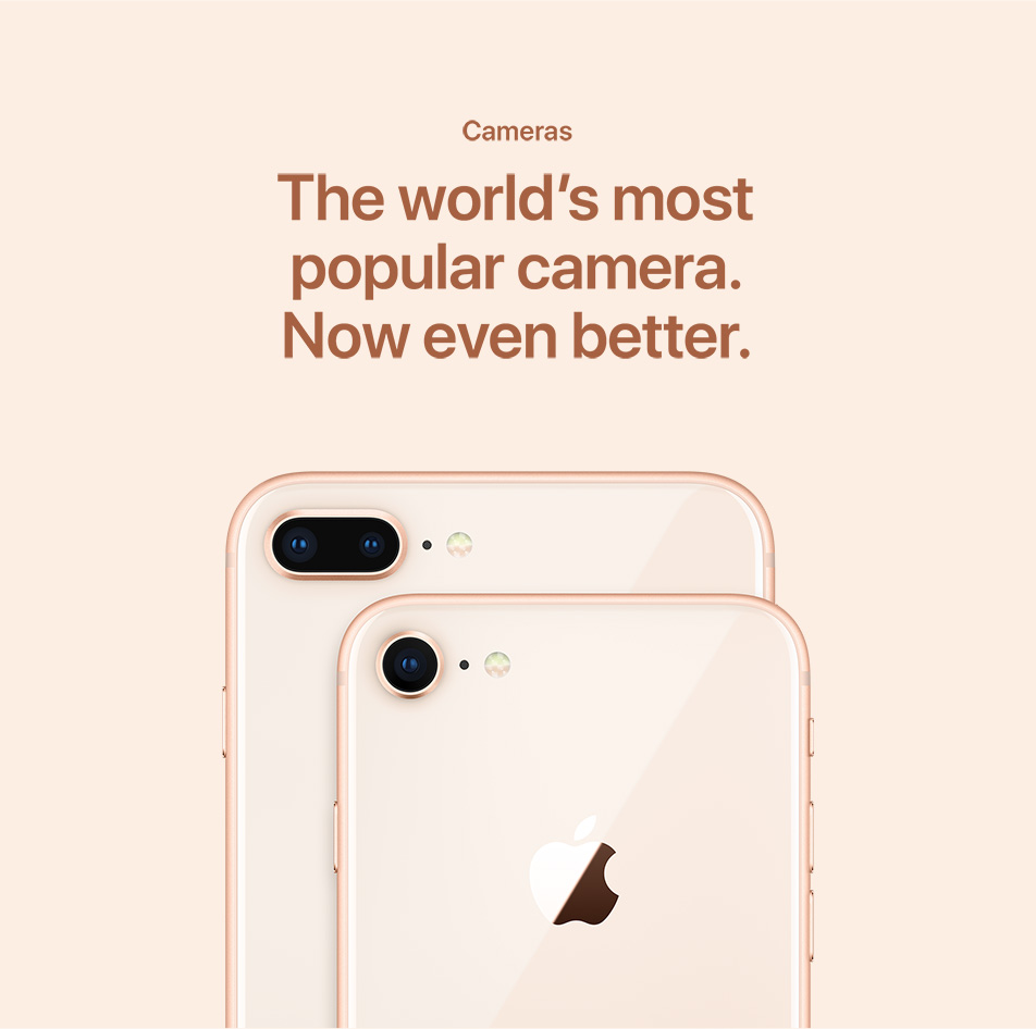 iPhone 8 - Cameras - The World's Most Popular Camera
