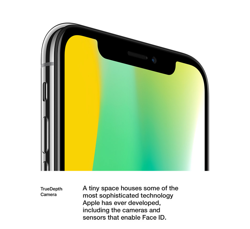 iPhone X - Design - True Depth Camera