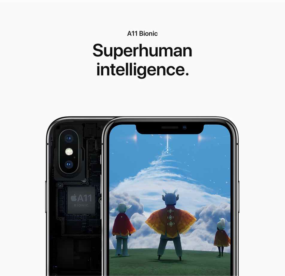 iPhone X - A11 Bionic