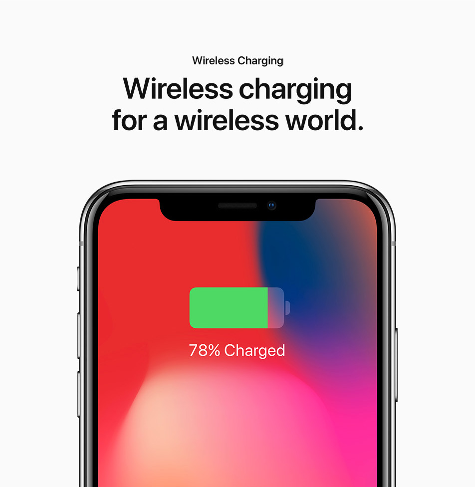 iPhone X - Wireless Charging - Wireless charging for a wireless world