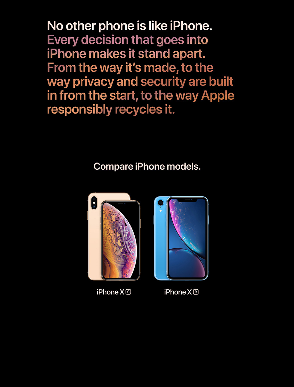 iPhone Xs - Compare iPhone models