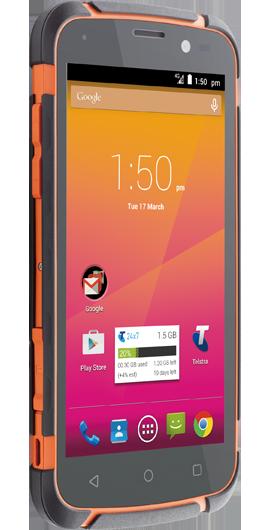 ZTE T84 Telstra Tough Max Orange 4G Excellent Condition