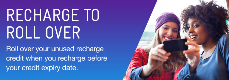 recharge to roll over unused credit
