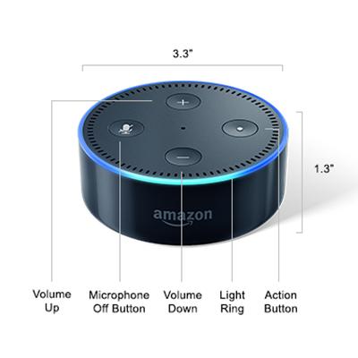 Buy Amazon Echo Dot 2nd Generation Telstra Smart Home