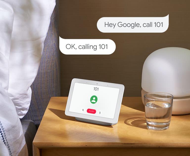 Hey Google, Call lifestyle image