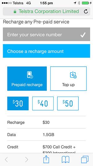 24x7 choose recharge amount