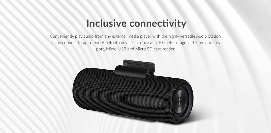 Image of the smart speaker attachment