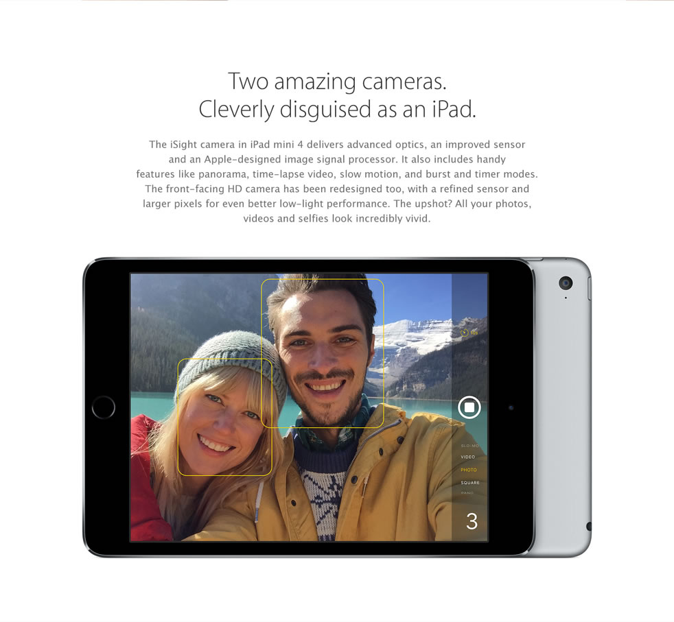 Two amazing cameras cleverly disguised as an iPad