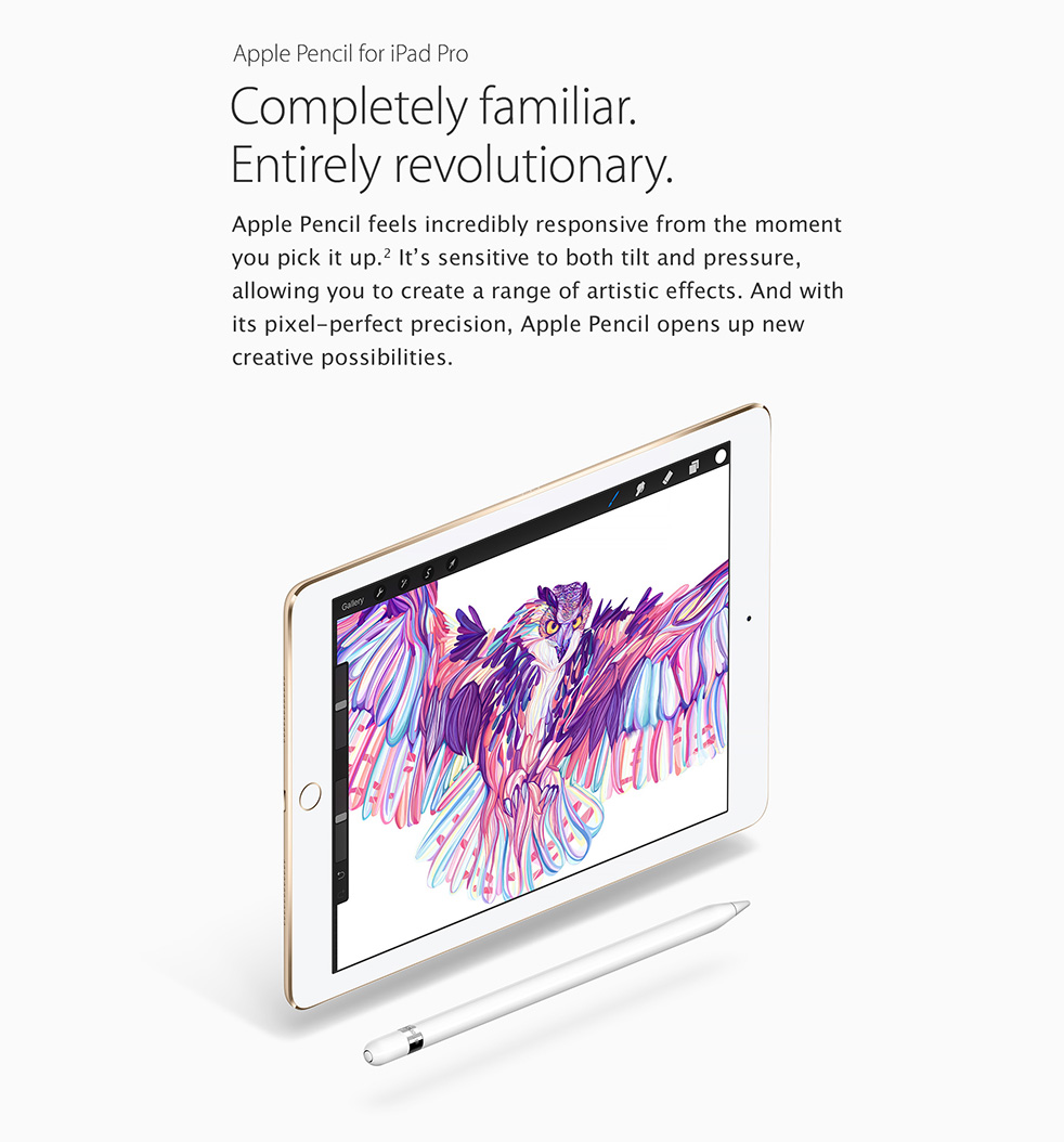 iPad Pro 9.7-inch with Apple Pencil
