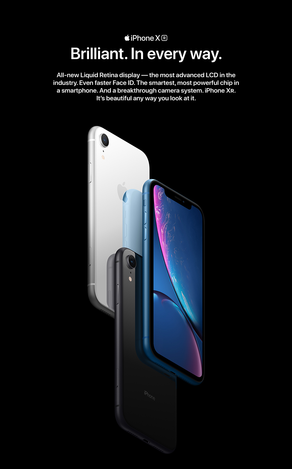 iPhone XR, Xs & Xs Max Features & Specifications - Telstra