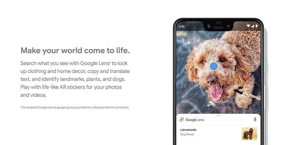 Google Pixel 3 -  Make your world come to life