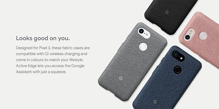 Google Pixel 3 -  Fabric cases