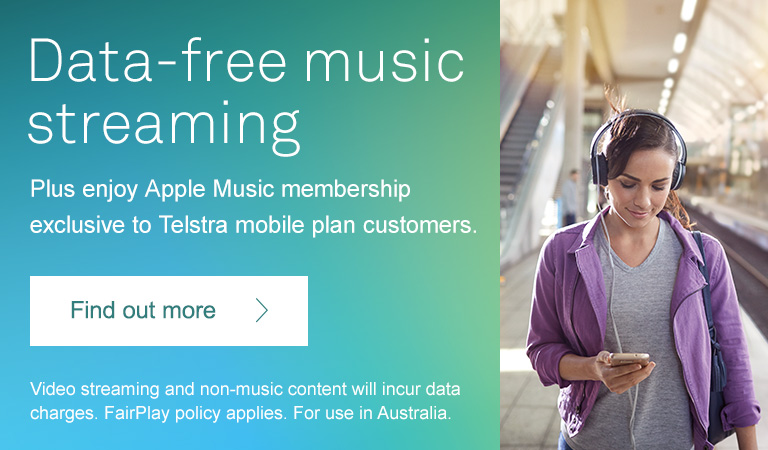 Data-free music streaming