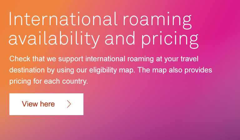support article roaming rates travel passes