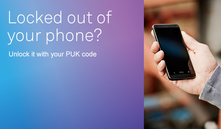 Image result for what is puk code