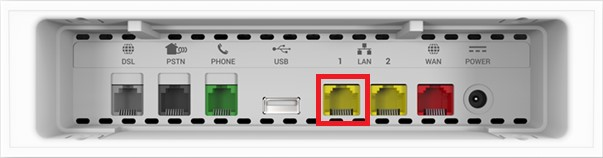 Powerline Ethernet Hub Priority Port